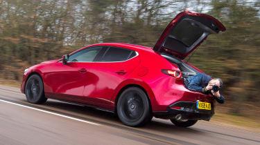 Mazda 3 long term - boot shot