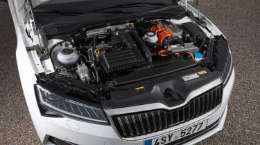 Skoda Superb iV - engine