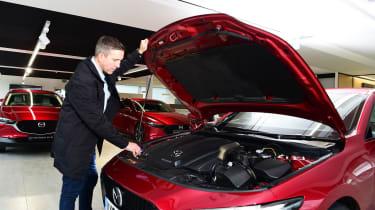 Mazda 3 Skyactiv-X long termer - first report engine
