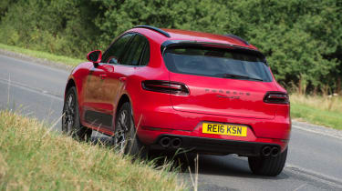 Porsche Macan GTS UK - rear
