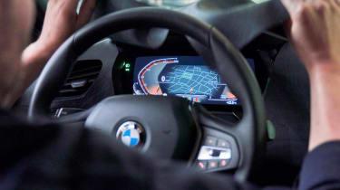 BMW 1 Series - prototype teaser interior