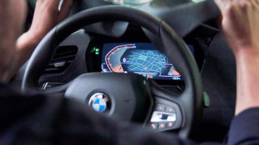 BMW 1 Series - prototype teaser interior