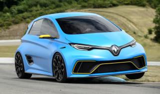 Renault ZOE E-Sport concept - front