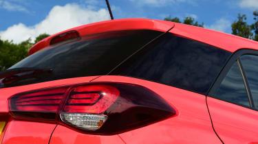 Hyundai i20 - rear profile