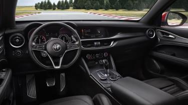 Alfa Romeo Giulia Nurburgring cabin