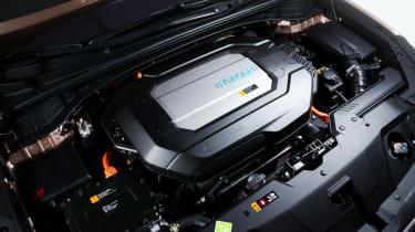 Hyundai NEXO fuel cell SUV - power
