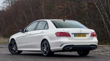 Mercedes E-Class - rear