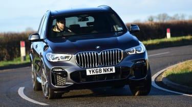 BMW X5 - cornering