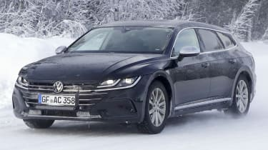 2020 Volkswagen Arteon Shooting Brake - front 3/4 tracking