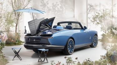 Rolls-Royce Boat Tail - picnic