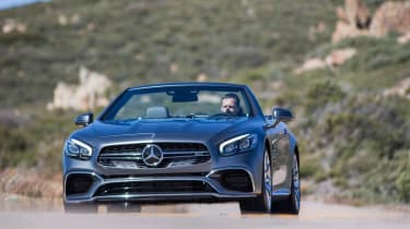 Mercedes-AMG SL 65 - front action
