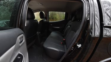 Fiat Fullback - rear seats