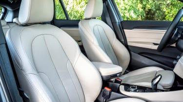 BMW X1 review - seats