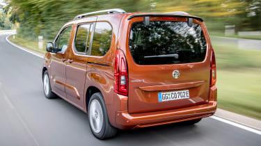 Vauxhall Combo-e Life - rear action