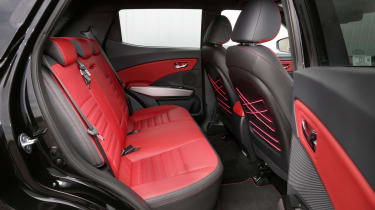 SsangYong Tivoli ELX diesel rear seats