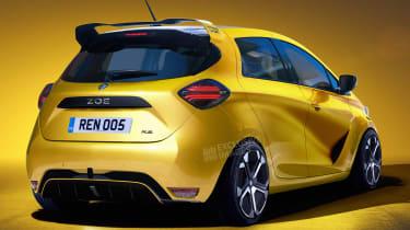 Renault ZOE RS - rear (watermarked)