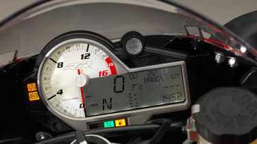BMW S1000RR Sport instruments