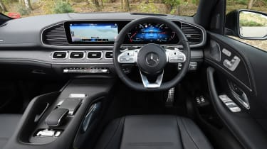 Mercedes GLE - dash
