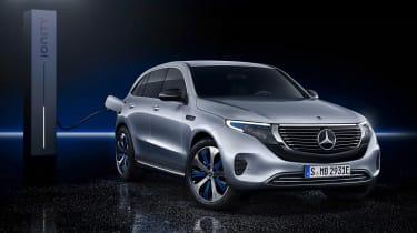 Mercedes EQC - studio charging