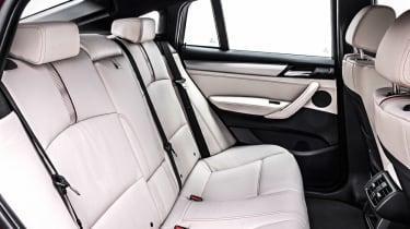 BMW X4 interior