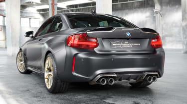 BMW M Performance Parts read end