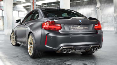 BMW M Performance Parts read end