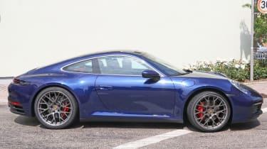 Next generation Porsche 911 side