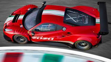 Ferrari 488 GT3 EVO - cornering