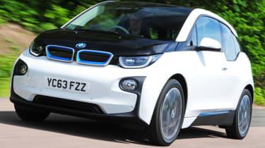 BMW i3 Rex front