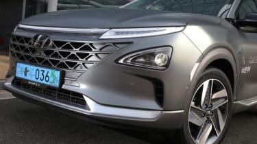 Hyundai NEXO front bumper