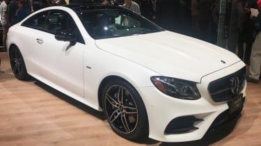 Mercedes E-Class Coupe - front quarter