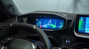 Peugeot e-2008 - dials