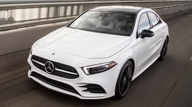 Mercedes A-Class Saloon - above