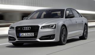 Audi S8 Plus - front action