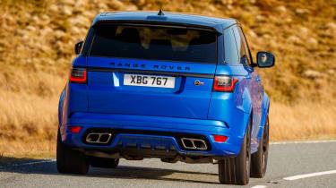 Range Rover Sport SVR - rear cornering