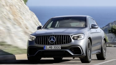 Mercedes-AMG GLC 63 S - front cornering