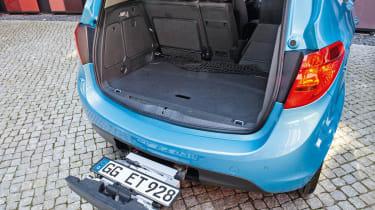 Vauxhall Meriva boot