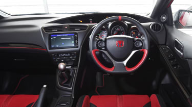 Honda Civic Type R long term - First Report dashboard