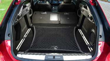 Peugeot 508 SW estate boot seats down