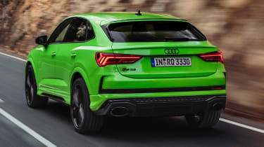 Audi RS Q3 Sportback - rear action