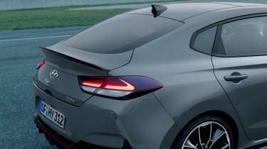 Hyundai i30 N Fastback - rear detail