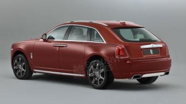 Rolls-Royce Cullinan - rear