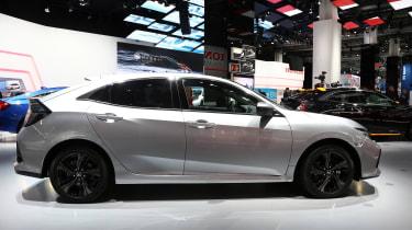 Frankfurt - Honda Civic diesel - side