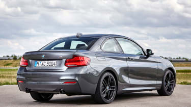 BMW M240i Coupe facelift review - rear