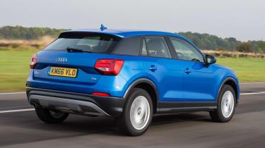 Audi Q2 - blue rear