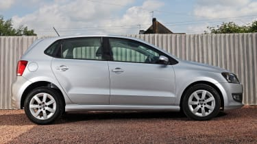 Used Volkswagen Polo - side