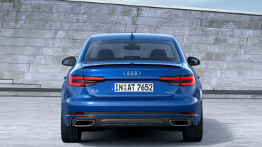 Audi A4 facelift - full rear