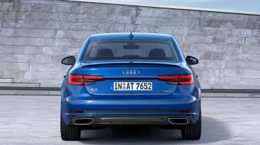 Audi A4 facelift - full rear