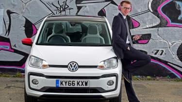 Volkswagen up! - long termer first report Sean Carson