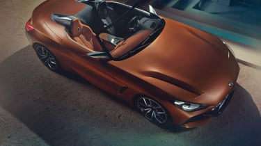 BMW Concept Z4 leaked - above